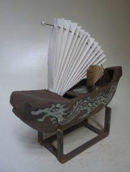 Materiaal: Keramiek, papier en metaal
